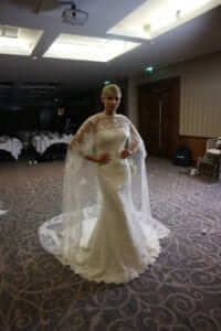 St Patrick Cape Wedding Dress