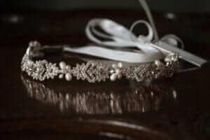 alan hannah bridal tiara head band
