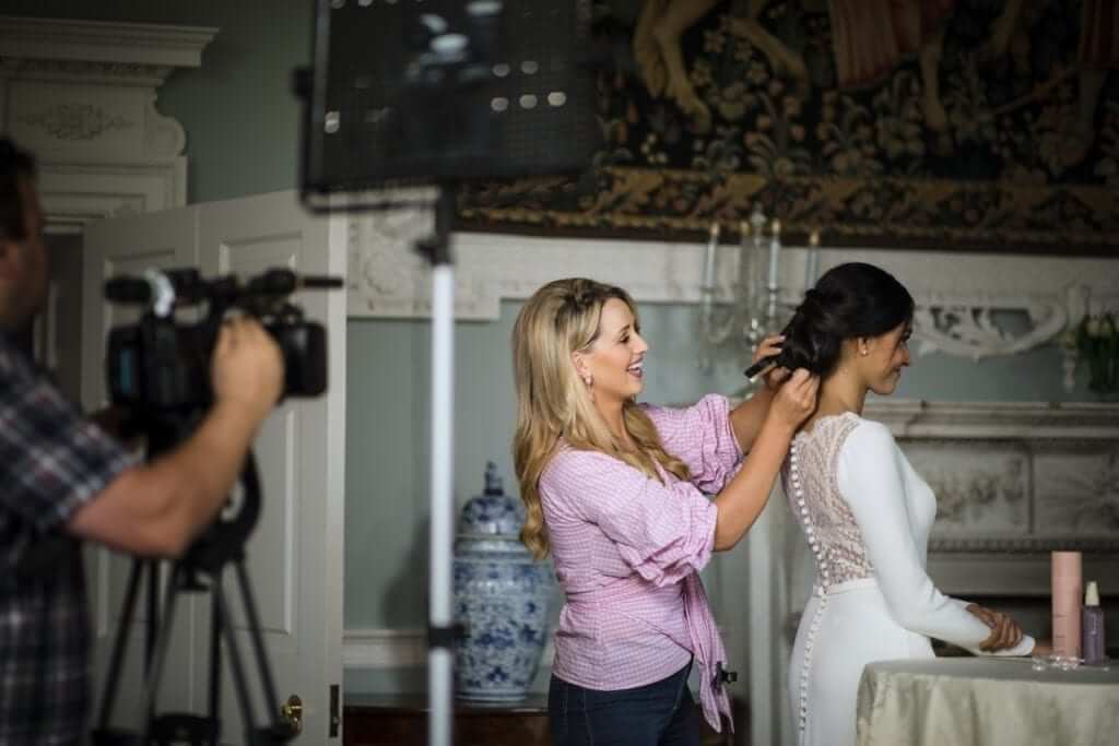 elaine murphy bridal hair
