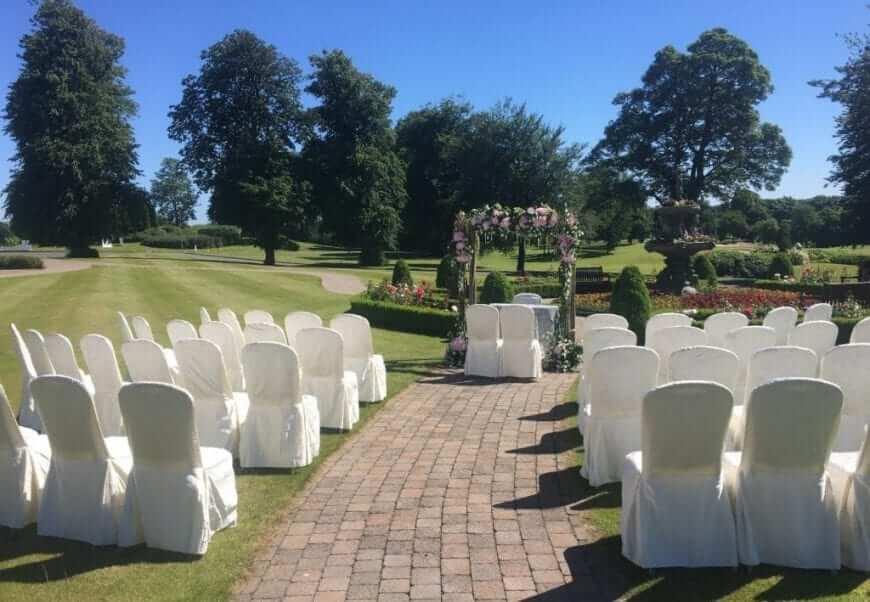 civil ceremony slieve russell hotel