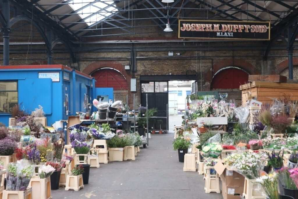Smithfield Flower Market   Irish Wedding Blog
