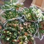 diy wedding flowers at smithfield market