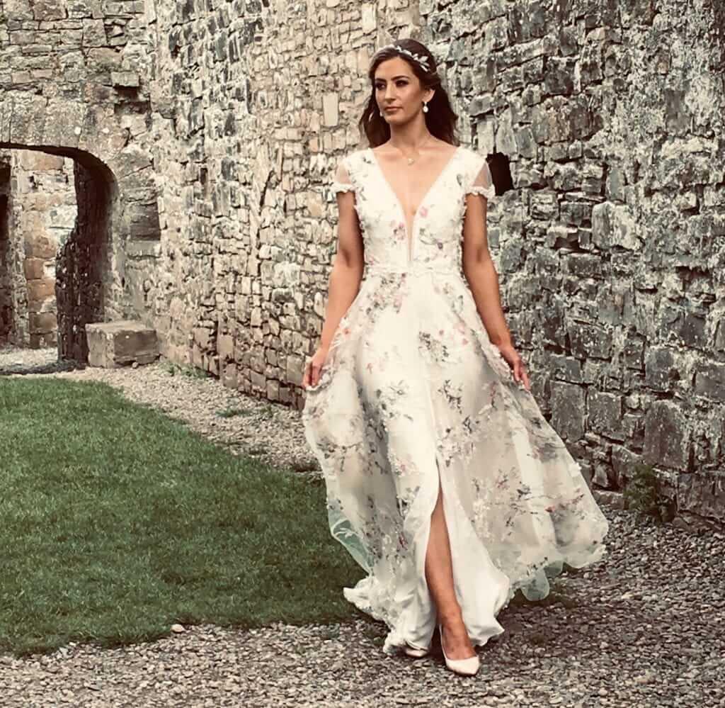 savin london floral dress