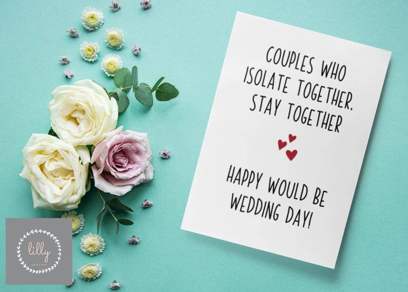 What would be wedding card