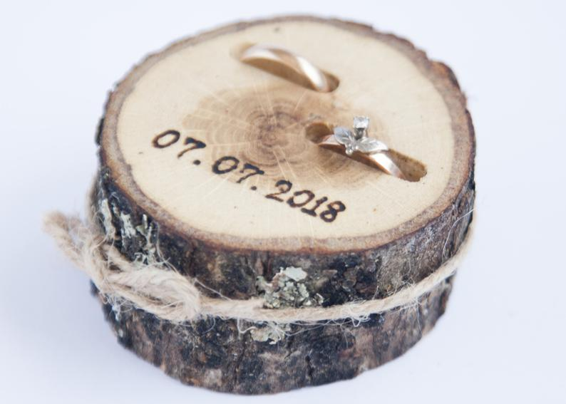 etsy wedding ring holders
