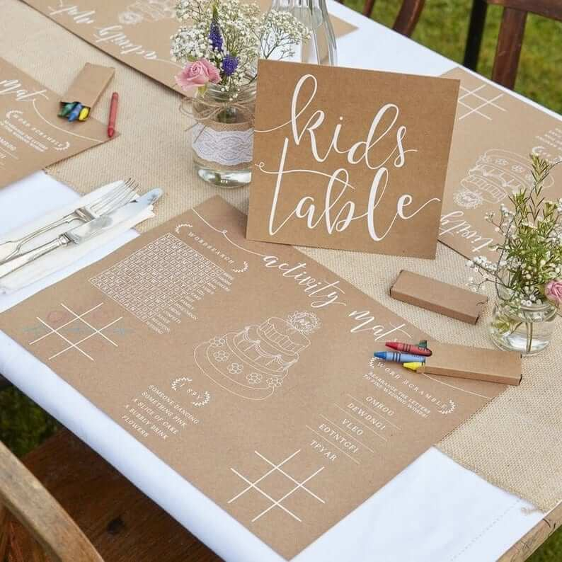 kids wedding sets