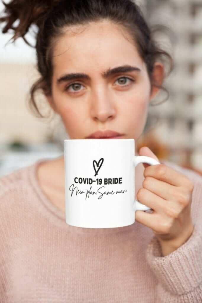 Covid 19 Bride Mug