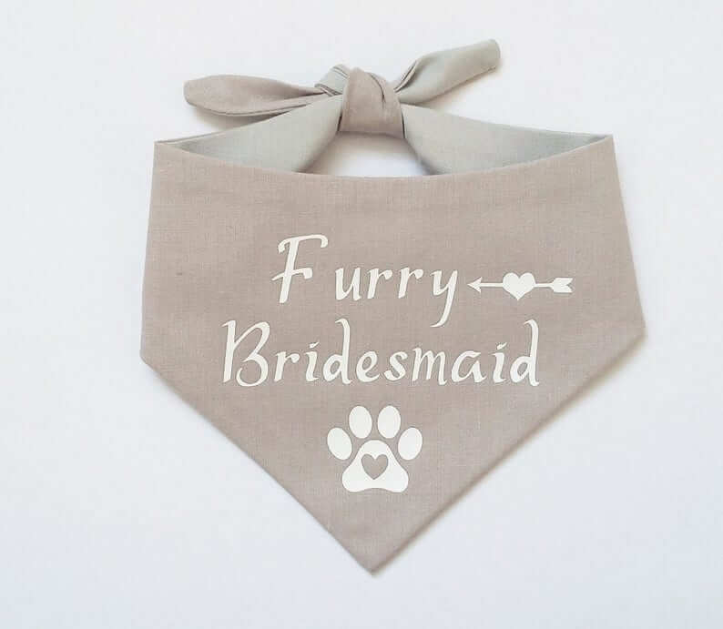 dog wedding bandana