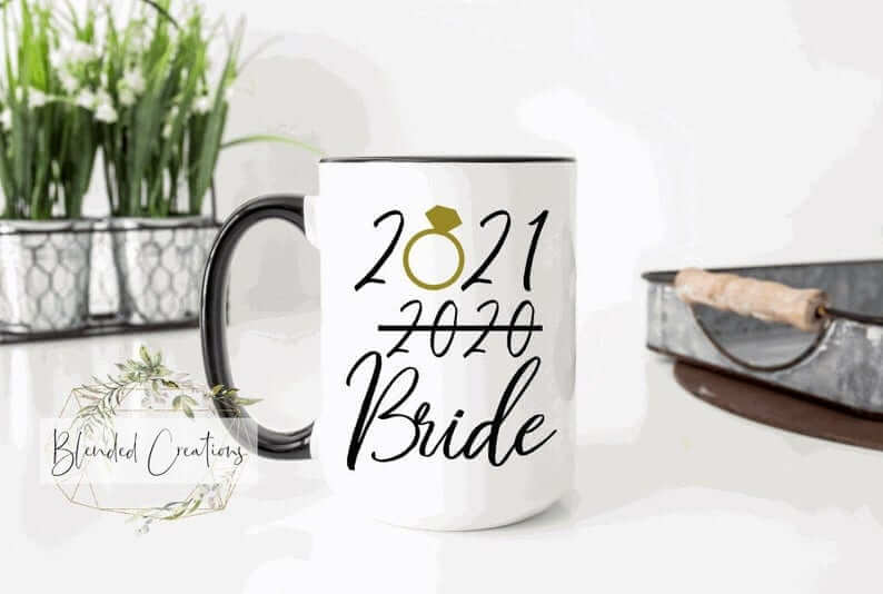 postponed wedding mug