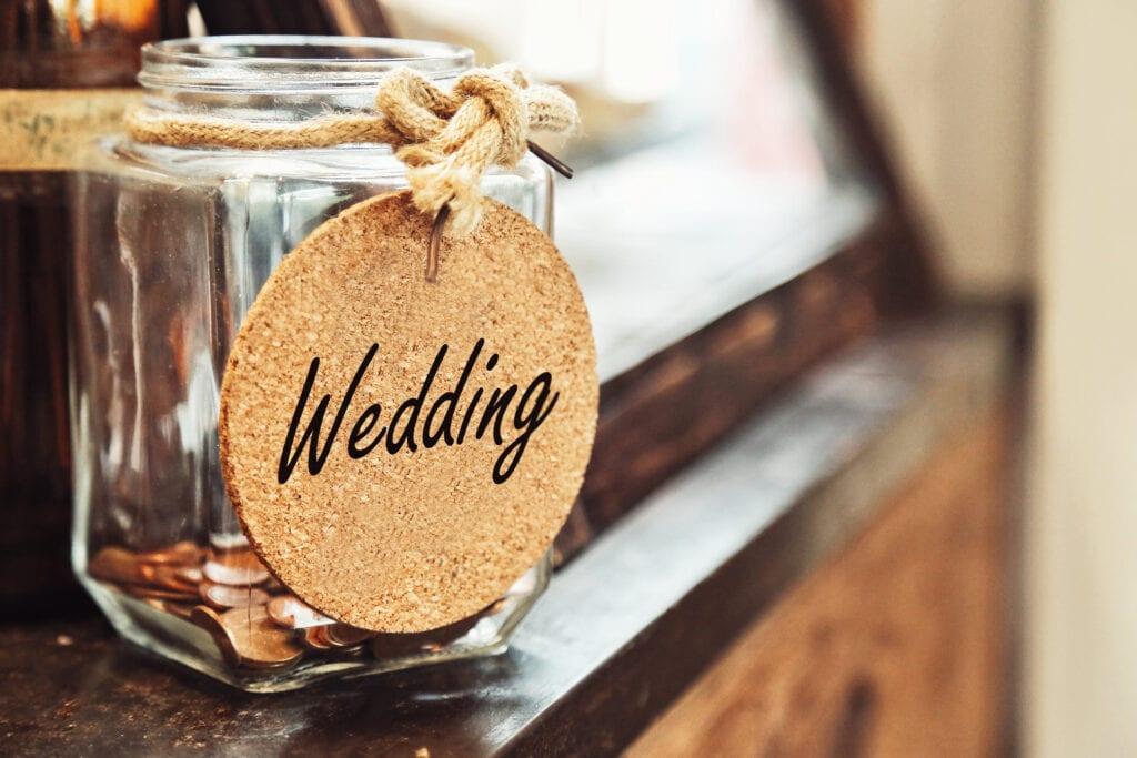 saving for a wedding tips